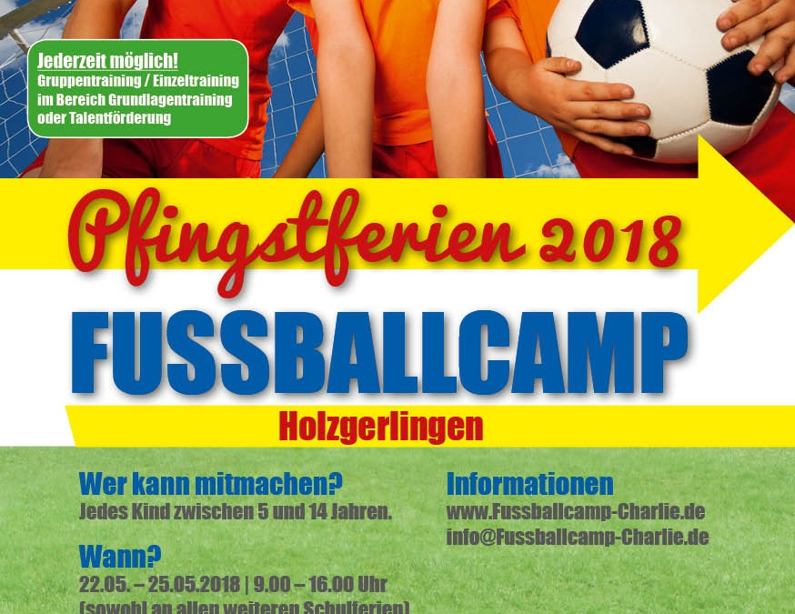 Flyer Pfingstcamp 2018